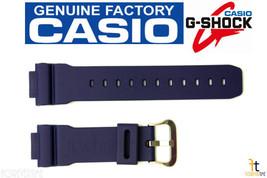 CASIO G-Shock DW-9052-2V 16mm Original Blue Resin Watch BAND Strap - $30.55