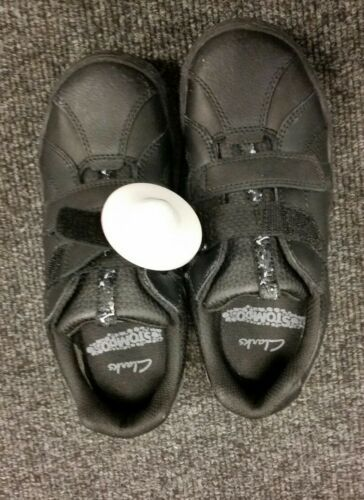 Clarks Stompo children casual/ school Shoes Size uk 1.5, 7g, 12g