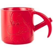 "Disney Snow White's ""Grumpy Before Coffee"" Grumpy Dwarf with Axe Handle Red Mug - $29.95"