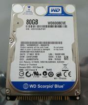"Western Digital Blue 80GB 2.5"" 5400RPM IDE Hard Drive - WD800BEVE - $16.10"