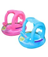 Pool Canopy Inflatable Baby Swim Floats Ring Toys Float Swimways Sun Toy... - ₨2,034.77 INR
