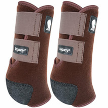 Classic Equine Lightweight Legacy2 Front Sports Boots Pair Chocolate U-02CH - $86.99