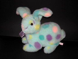"""Commonwealth Multi Color Bunny Rabbit Easter Plush Toy 14"""" - $24.75"""