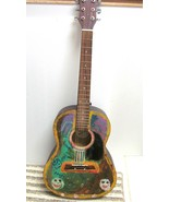 FIRST ACT MG 366 6(5) String Acoustic GUITAR FUNKY Painted Personalized ... - $69.92
