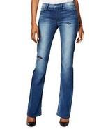 Calvin Klein Jeans Flare-leg Ripped, Dirty Indigo, 30W32L - $59.39