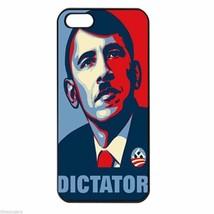 BARACK OBAMA DICTATOR ALEX JONES Apple Iphone Case 4/4s 5/5s 5c 6 Plus 6... - £8.23 GBP