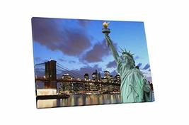 "Pingo World 0429QAYNVNM ""New York Statue of Liberty Skyline"" Gallery Wra... - $57.37"