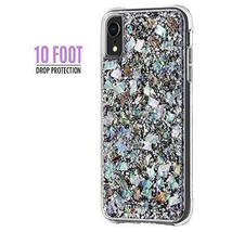 iPhone XR Case PC TPU Anti Scratch Shockproof Bumper Mother Of Pearl Sil... - $64.54