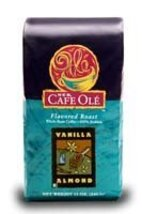 HEB Cafe Ole Whole Bean Coffee 12oz Bag (Pack of 3) (Vanilla Almond - Medium Dar - $40.17
