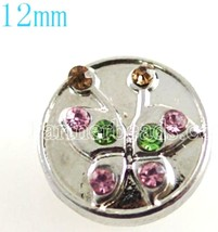 Pink Green Butterfly 12mm Mini Petite Charm For Ginger Snaps Magnolia Vine - $6.19