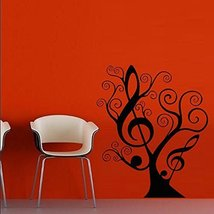 Wall Decal Sticker Vinyl Note Music Song HeRelax Star Tree Branch decor - $63.00