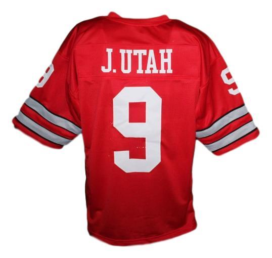 Johnny utah point break movie keanu reaves football jersey red   1