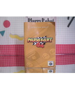 Mario Kart 64 Instruction Manual Booklet Nintendo N64 - $6.44