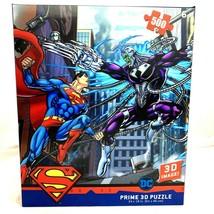 DC Comic Superman Prime 3D Effect 500 Piece Jigsaw Puzzle - $33.83