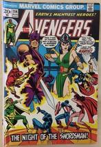 THE AVENGERS #114 (1973) Marvel Comics  VG+ - $9.89