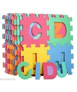 26 SQ Ft Learning Alphabet Letter Puzzle Foam Safety Play Mat ABC Floor ... - $28.70