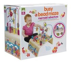 ALEX Jr. Busy Bead Maze Mermaid Wooden Activity Center - $95.92