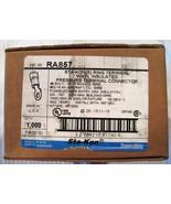 Thomas & Betts Sta-Kon RA857 Vinyl Insulated Ring Terminal (1000) MSRP $... - $39.45