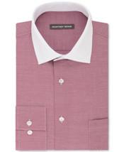 Geoffrey Beene Grenadine Stripe Regular Fit Long Sleeve Dress Shirt 17 -... - $21.95