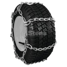 Tire chains 4 LINK fits  23x10.50-12; 23x9.50-12 1 pair Great for Snow & ICE - $64.30
