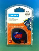 "Dymo LetraTag 91333 0.5"" x 13' Polyester Tape - 1 x Roll - New #3333 - $4.99"