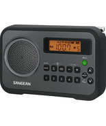Sangean AM FM DigitalPortable Receiver with Alarm Clock PR-D18 - $49.48