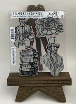 Tim Holtz Cling Rubber Stamps TIME TRAVELERS  CMS157 - $19.75