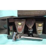 The Art of Shaving UNSCENTED 5pc Travel Kit Shave Oil Cream Balm Razor B... - $39.59