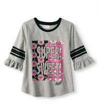 NWT JoJo Siwa Gray Super Sweet Shirt Size 4 - $12.60