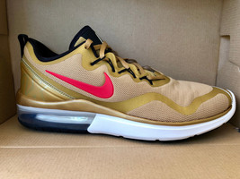 MEN'S NIKE AIR MAX FURY SHOES metallic gold red desert AA5739 700 MSRP $120 - $69.98