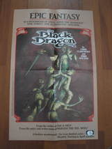 "(MX-6) 1985 Marvel / Epic Comics Promotional Poster: The Black Dragon - 11"" x 17 - $12.00"