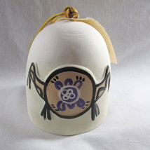 "Turtle Shield Bell Plains Indians New 4 1/2"" Indigenous Native Signed Or... - $18.98"