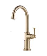 Brizo 61025LF-GL Artesso Single Handle Bar/Prep Faucet in Luxe Gold - $376.19