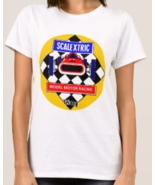 Vintage Slot Cars ladies t-shirt 100% toys classic retro cool scalextric... - $27.00