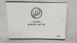 2008 Buick Enclave Owners Manual 53681 - $26.05