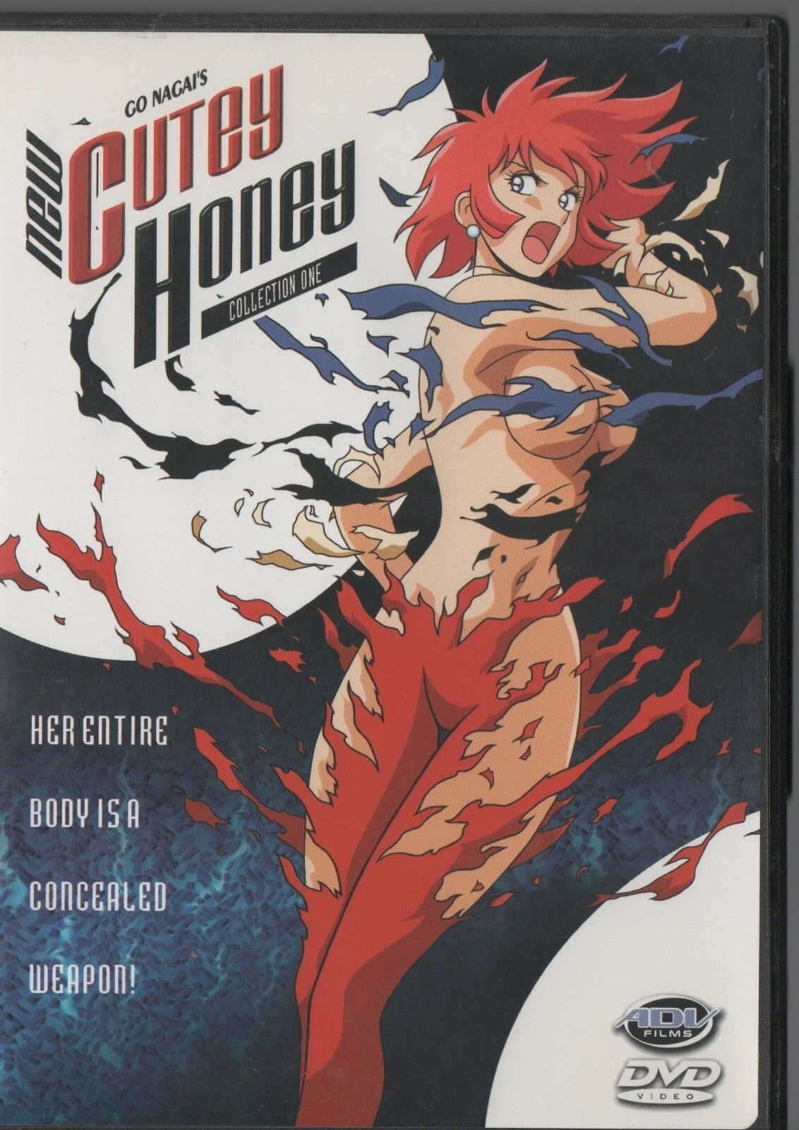 New Cutey Honey Collection One - Co Nagai - ADV Films - DVD DC/001 - R - 2000.