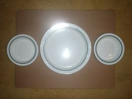 Dansk Bistro Christianshavn Green Pasta Bowls And Platter - $56.09
