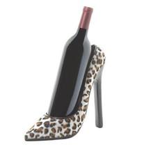 Modern Wine Bottle Holder, Cute Leopard Shoe Tabletop Unique Wine Bottle... - £26.31 GBP