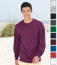 Fruit of the Loom Adult HD Tagless Long Sleeve Tee T-Shirt. HD6LR-10 COLORS-NEW! - $9.99