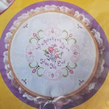 Cross Stitch Kit A Mothers Love 1947 Sue Miyata Hoop The Creative Circle   - $18.00