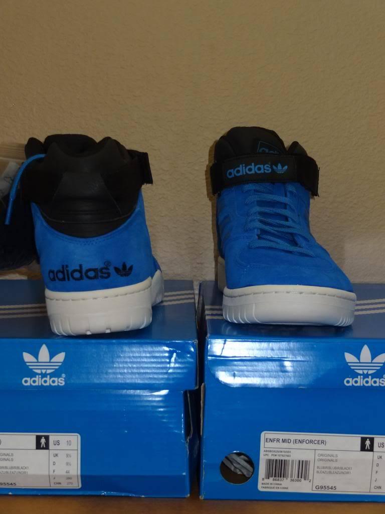 super popular e4c33 6696d ... NIB Adidas Originals ENFR Mid (Enforcer) Mens Shoes Sz 10 (G95545)