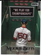 2019 Topps Stadium Club #1 Mookie Betts Boston Red Sox - $1.00
