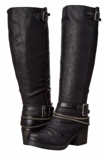 Candace by Carlos Santana boots in Black size (6.5 M)