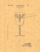 Goblet Patent Print - $7.95+
