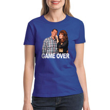 Married With Children Game Over Women's Royal Blue T-shirt NEW Sizes S-2XL - $22.76+
