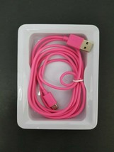 Belkin Pink USB-C to USB-A Cable F2CU032BT06 - 6 ft USB 2.0 (Type-C) - Pink New image 2
