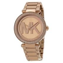 Michael Kors mk5865 Parker Rose Gold Women's Logo Watch - $169.00