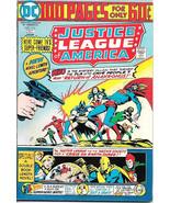 Justice League of America Comic Book #114, DC Comics 1974 VERY FINE- - $27.98