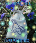 Faerie Wishing Potion Witch Made Faery Fairy Fae Dust Spell Bound Magick - $20.00