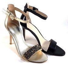 Nine West Mana Leather High Heel Dressy Ankle Strap Sandals Choose Sz/Color - €64,55 EUR